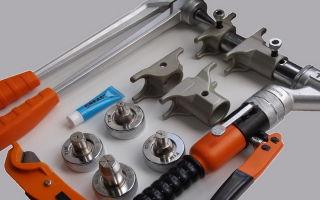 Инструмент для монтажа труб из сшитого полиэтилена