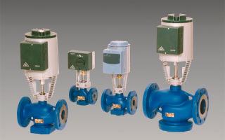 Особенности использования запорно-регулирующего клапана с электроприводом