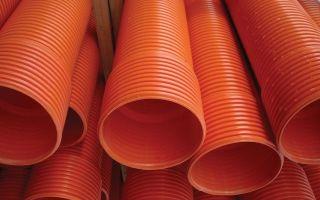 Характеристика канализационных труб красно-коричневого или рыжего цвета