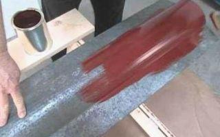 Использование краски для поверхности оцинкованных труб