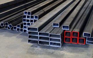 Размеры и применение металлической профильной трубы квадратной формы
