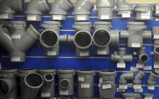 Размеры и виды канализационных труб из пвх и переходников для их соединения