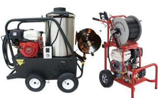 Особенности выбора гидродинамической машины для прочистки канализации