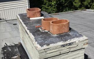 Способы гильзования кирпичного дымохода