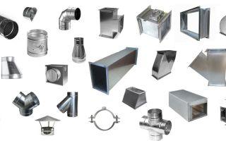 Воздуховоды из оцинкованной стали, их виды и применение