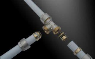 5 способов соединения металлопластиковых труб