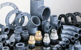 Применение и особенности соединения пластиковых труб большого диаметра
