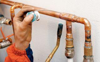 Как правильно проводится соединение (пайка) медных труб?