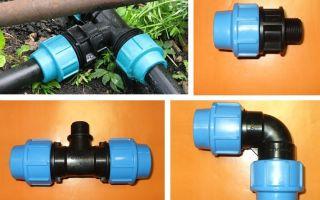 Соединение пластиковых труб для водопровода своими руками