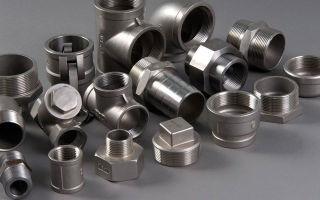 Виды стальных фитингов и особенности их монтажа