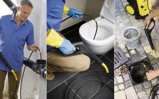 Способы прочистки и профилактики засоров канализации