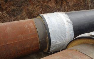 Термоусаживаемые муфты для защиты швов труб ппу изоляции