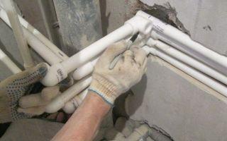 Как самостоятельно выполнить монтаж пластиковых труб