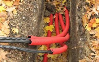 Пнд труба для прокладки кабеля в земле