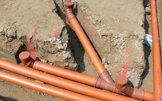 Как выбрать канализационные трубы для наружной системы канализации