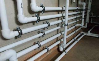 Монтаж различных видов пластиковых труб для линий водопровода своими руками