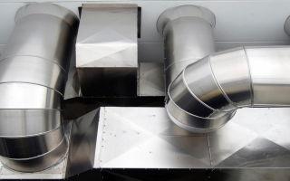 Особенности и виды труб для воздуховодов круглого сечения