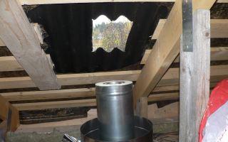 Обустройство дымохода печей — разновидности и как сделать своими руками