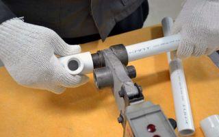 Соединение трубопроводов из полипропиленовых труб