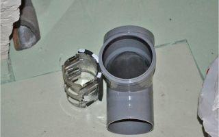 Способы и цели использования заглушки на канализационную трубу