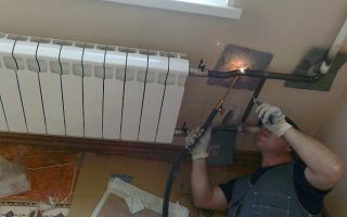 Частичная и полная замена труб отопления в квартире