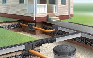 Как выбрать трубы для обустройства ливневой канализации