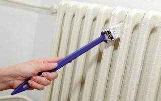 Как правильно покрасить батареи отопления своими руками — создать ровное прочное покрытие