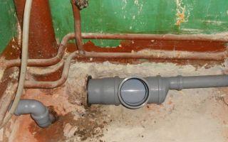 Как правильно заменить трубы в системе канализации