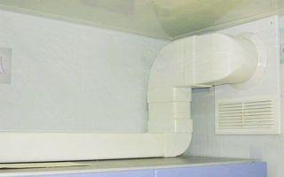 Как установить вентиляционный короб на кухне своими руками?