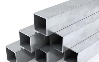 Где применяют профильные трубы из нержавеющей стали и в чём их преимущество