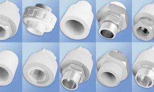 Виды фитингов для соединения пластиковых труб