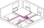 Особенности двухтрубной разводки системы отопления дома