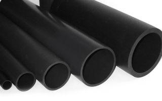 Особенности пластиковых труб чёрного цвета для транспортировки воды