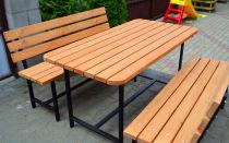 Как сделать лавки, столы, скамьи и другую садовую мебель из профильной трубы