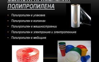 Отличия и сферы применения полиэтилена и полипропилена