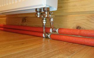 Применение труб из сшитого полиэтилена для систем отопления