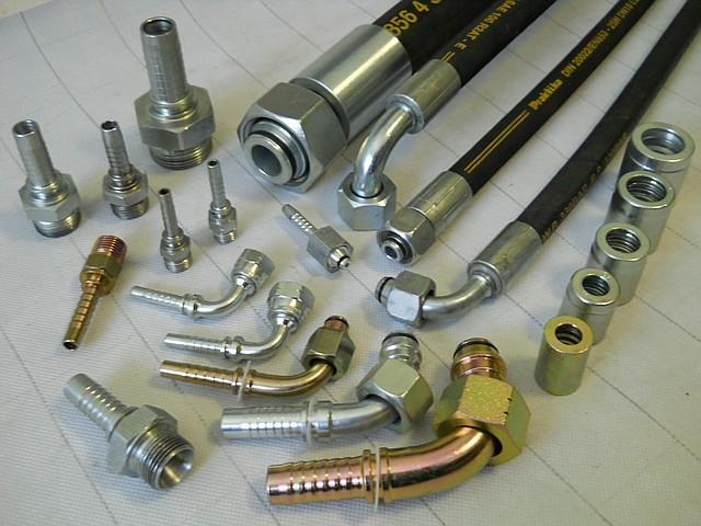 Фитинги для гидравлических систем с рвд (рукава высокого давления) - Проф  Трубы