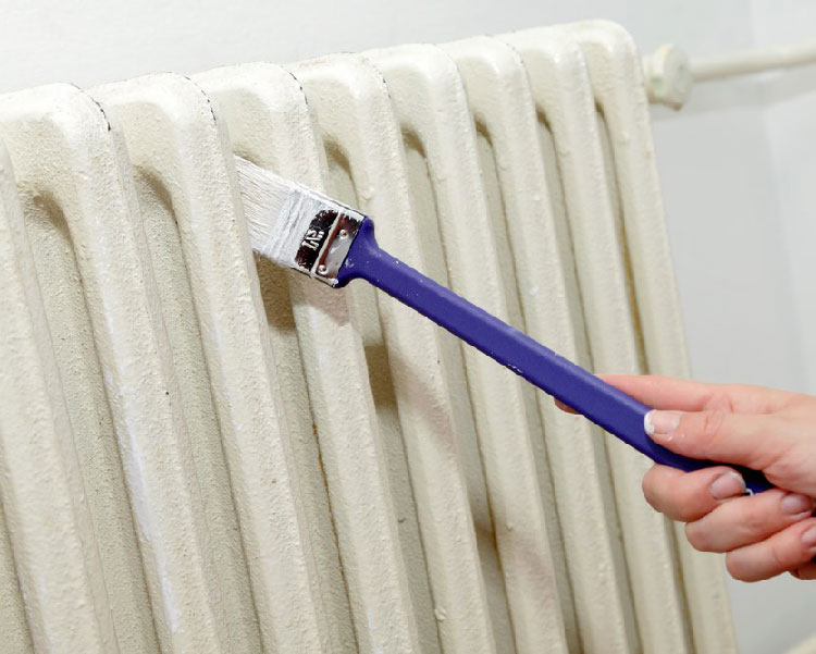 Как красить батареи отопления своими руками: как покрасить чугунную батарею в домашних условиях, как быстро и красиво покрасить внутри, каким цветом