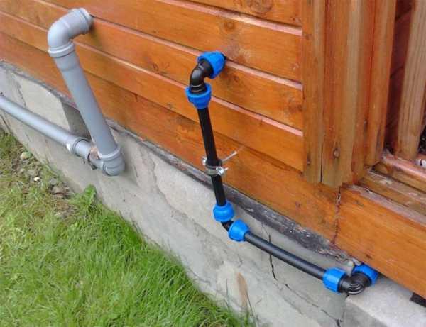 Летний водопровод для дачи
