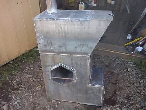 Конструкция котла для бани