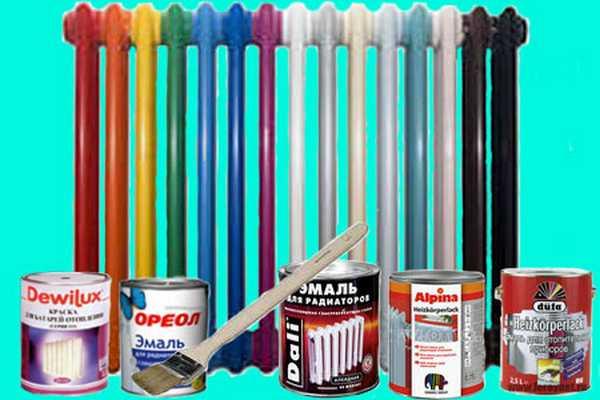 Краска для радиаторов отопления основные виды и советы по выбору 37 фото