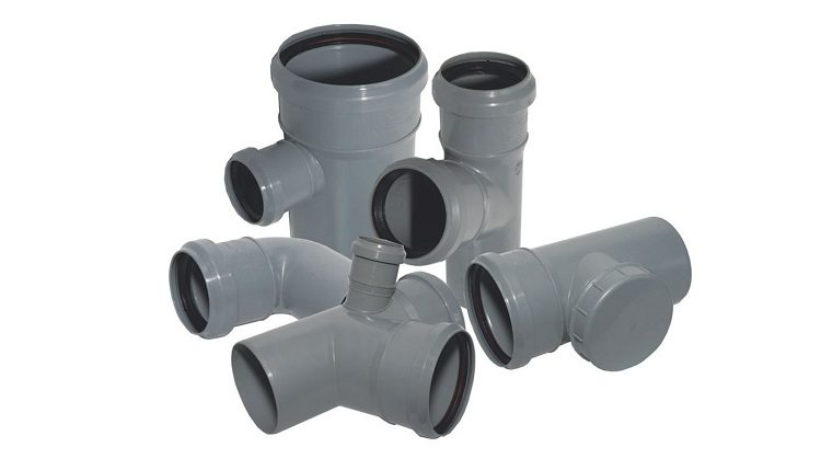 Как соединяются пластиковые трубы канализации
