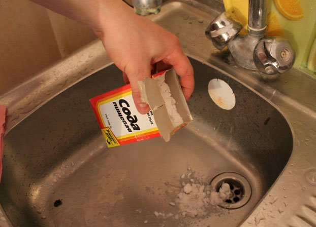Сода с уксусом для чистки труб